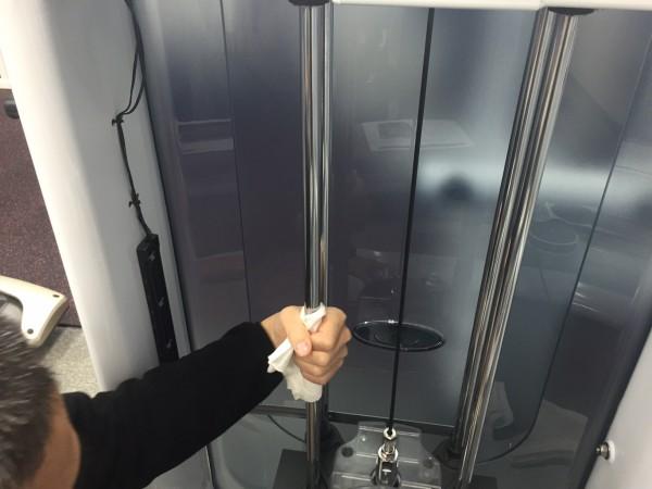 潤滑油 トレーニングマシン