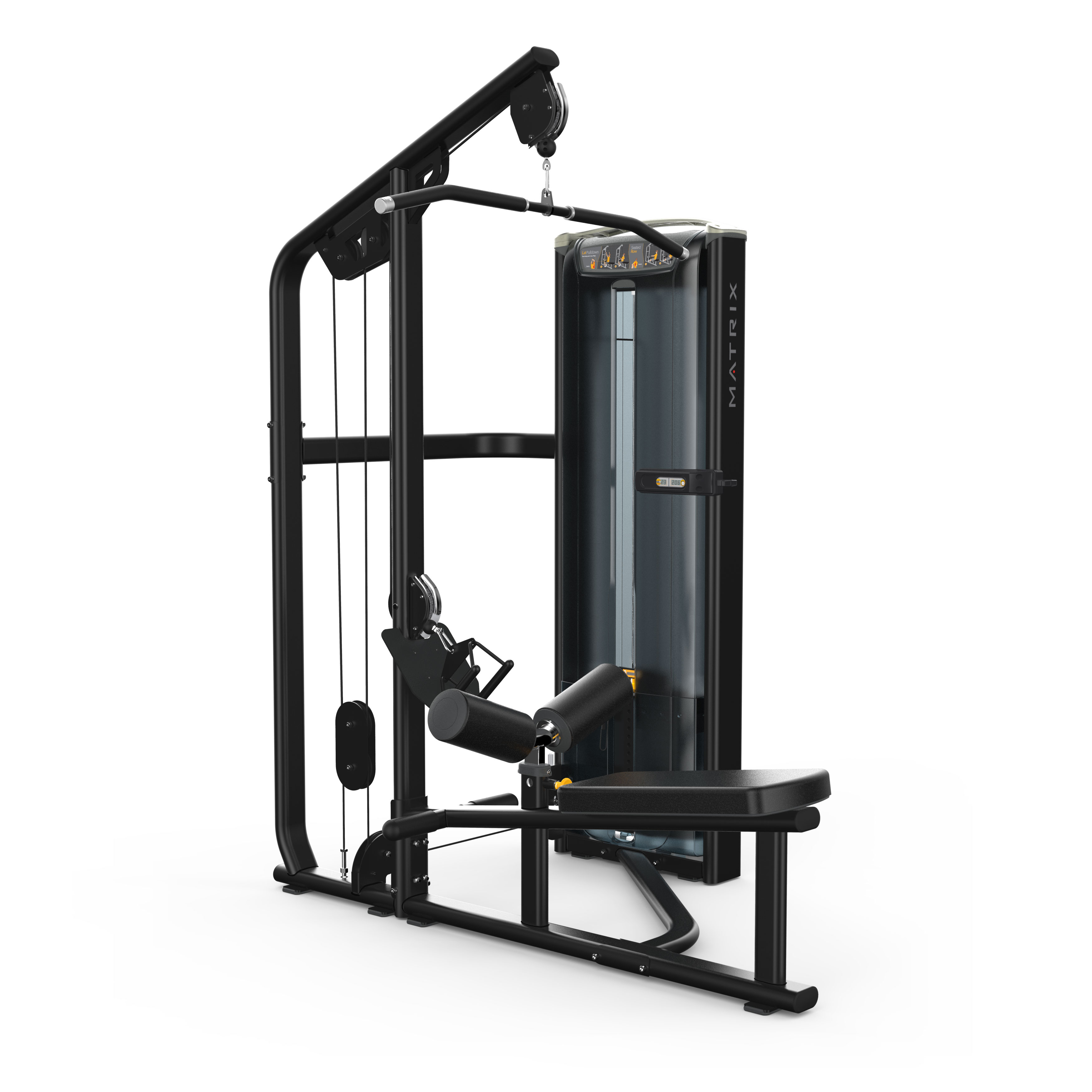 MX17_VERSA VS-S331 combo lat pulldown-seated row_Blk Matte_hero
