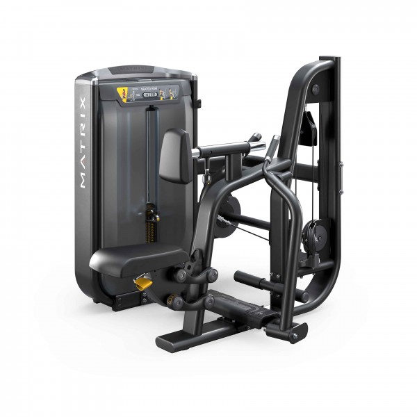 G7-S34-02 diverging seated row_Blk Matte_hero_lores