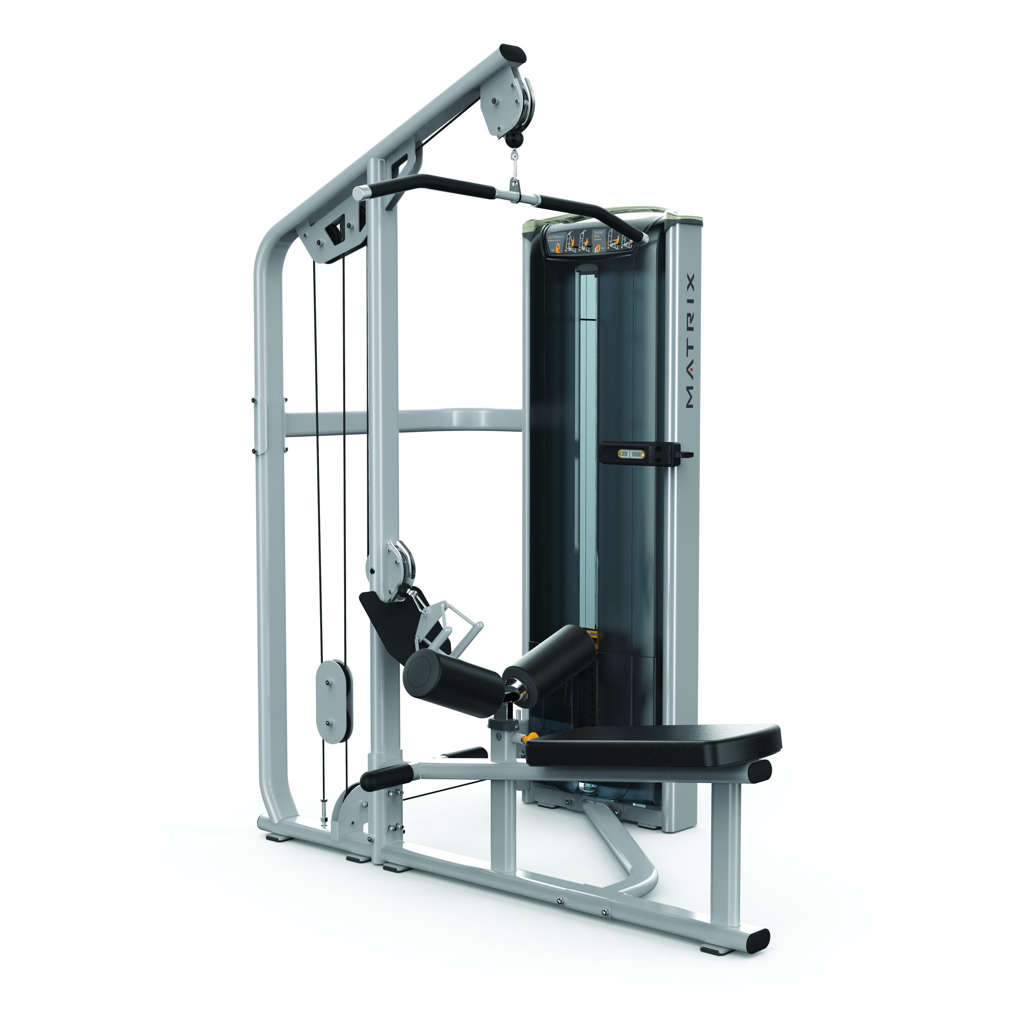 MX16_VERSA VS-S331 combo lat pulldown-seated row_Iced Slvr_hero