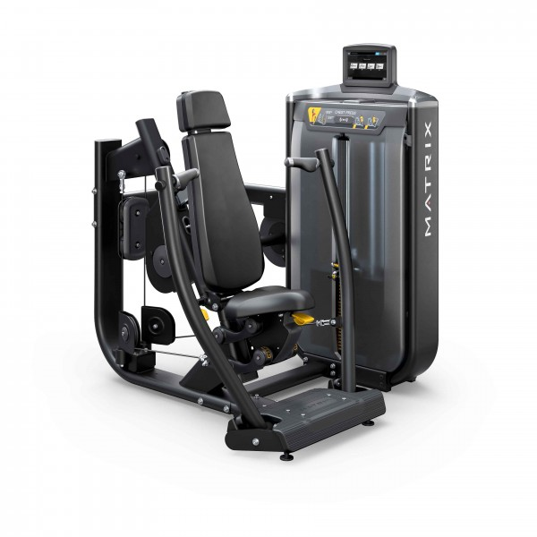 G7-S13-02 converging chest press_w-SS_Blk Matte_hero_lores